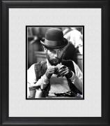 """Paul Newman The Life & Times of Judge Roy Bean Framed 8"""" x 10"""" Playing Cards Photograph"""