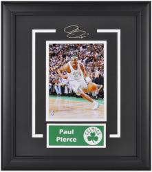 "Boston Celtics Paul Pierce 6"" x 8"" Framed Photo with Nameplate - Mounted Memories"