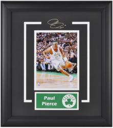 "Boston Celtics Paul Pierce 6"" x 8"" Framed Photo with Nameplate"