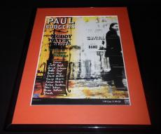 Paul Rodgers 1993 Muddy Water Blues Framed 11x14 ORIGINAL Vintage Advertisement