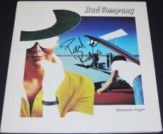 Paul Rodgers Signed - Autographed BAD COMPANY LP Record Album Cover