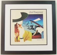 Paul Rodgers Signed - Autographed BAD COMPANY LP Record Album Cover BLACK CUSTOM FRAME