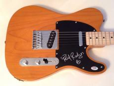 Paul Rodgers Bad Company signed guitar Fender Telecaster with psa dna coa