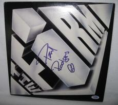 Paul Rodgers Signed The Firm Album Cover Psa/dna Coa