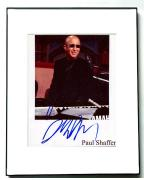 PAUL SHAFFER Autographed Signed Photo UACC RD    AFTAL