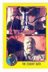 Paul Sorvino autographed card Topps Dick Tracy #31 (ip)
