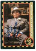 Paul Sorvino autographed trading card The Rocketeer (ip)