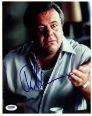 PAUL SORVINO SIGNED AUTOGRAPHED 8x10 PHOTO GOODFELLAS RARE PSA/DNA