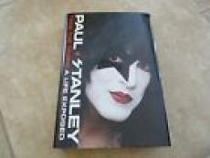 Paul Stanley A Life Exposed Kiss Signed Autographed Book PSA Certified