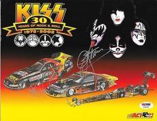 Paul Stanley / Gene Simmons Kiss Signed Auto 8 1/2 X11 Photo Psa/dna V62189