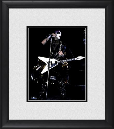 "Paul Stanley Kiss Framed 8"" x 10"" Playing Guitar Photograph"