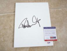 Paul Stanley KISS Rock Roll Signed Autographed 8x10 Sketch PSA Certified