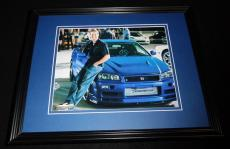 Paul Walker Fast & the Furious Framed 8x10 Photo Poster