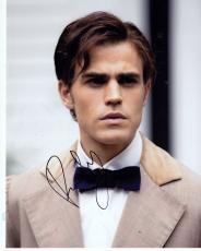 Paul Wesley Signed 8x10 Photo w/COA Vampire Diaries Stefan Salvatore Proof D