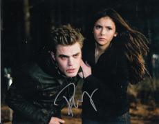 PAUL WESLEY signed *THE VAMPIRE DIARIES* 8X10 photo W/COA Stefan Salvatore #1