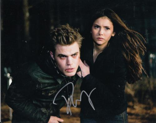 PAUL WESLEY signed *THE VAMPIRE DIARIES* 8X10 photo W/COA Stefan Salvatore #1