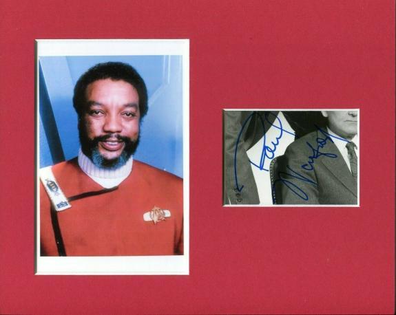 Paul Winfield Star Trek Captain Clark Terrell Signed Autograph Photo Display