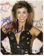 "Paula Abdul Autographed 8""x 10"" At American Music Awards Photograph - Beckett COA"