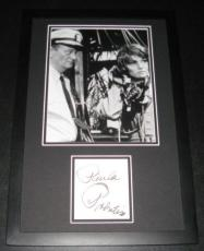 Paula Prentiss Signed Framed 11x17 Photo Display w/ John Wayne In Harm's Way