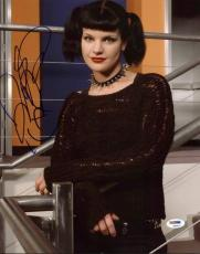 Pauley Perrette Navy Ncis Signed 11X14 Photo PSA/DNA #K63617