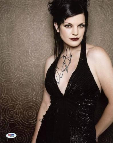 Pauley Perrette Navy Ncis Signed 11X14 Photo PSA/DNA #Q85518