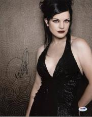 Pauley Perrette Ncis Signed 11X14 Photo Autographed PSA/DNA #W11823