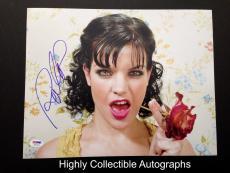 Pauley Perrette Signed 11x14 Photo Psa Dna Coa Autograph Ncis Abby