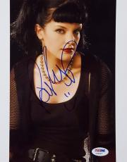 Pauley Perrette Signed 8x10 Photo Abby Sciuto NCIS PSA/DNA Y34667 Auto