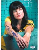 Pauley Perrette Signed NCIS Authentic Autographed 8x10 Photo (PSA/DNA) #V90079