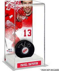 Pavel Datsyuk Detroit Red Wings Deluxe Tall Hockey Puck Case