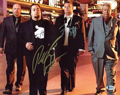 Pawn Stars (Rick & Corey Harrison) Signed 11x14 Photo BAS #D06704