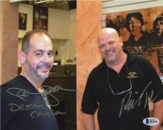 Pawn Stars Rick Harrison and Steve Grad Autographed Signed 8x10 Photo BAS COA