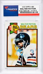 Walter Payton Chicago Bears 1979 Topps #480 Card -