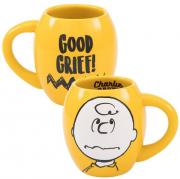 Peanuts Charlie Brown 18oz. Oval Mug