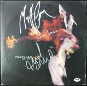 Pearl Jam (3) Vedder, Cameron & Mccready Signed Album Cover W/ Vinyl PSA #T08782