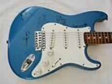 Pearl Jam All 5 Band Body Signed Autographed Guitar BAS & REAL Certified Vedder