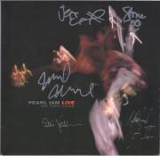 Pearl Jam Autographed On Two Legs Live Album with 5 Signatures - BAS