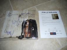Pearl Jam Band Signed Autograph Lost Dogs LP Flat x 4 Eddie Vedder PSA Certified