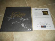 Pearl Jam Band Signed Autographed Vitalogy LP x 4 Eddie Vedder PSA Certified
