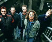 Pearl Jam Eddie Vedder Plus Full Band Autographed Signed Photo AFTAL UACC RD