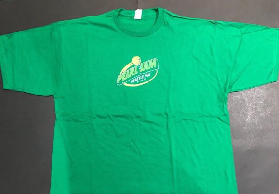 Pearl Jam Seattle Show Dec 6 2013 Gig Shirt Never Worn Condition New