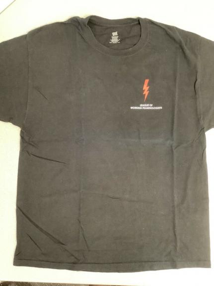 Pearl Jam T-Shirt 2013 Tour Stage Crew Roadie Fulminologists Rock Music Size XL