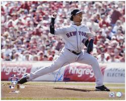 "Pedro Martinez New York Mets Autographed 16"" x 20"" Opening Day Photograph"