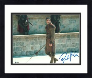 Pedro Pascal Signed 11x14 Photo Game Of Thrones Beckett Bas Autograph Auto A
