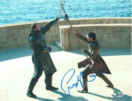 Pedro Pascal Signed 11x14 Photo Game Of Thrones Beckett Bas Autograph Auto C