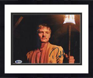 Pedro Pascal Signed 8x10 Photo Game Of Thrones Beckett Bas Autograph Auto Coa D