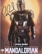"Pedro Pascal Star Wars Autographed 11"" x 14"" The Mandalorian Close Up Photograph"