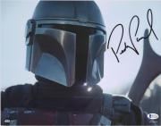 "Pedro Pascal Star Wars Autographed 11"" x 14"" The Mandalorian Photograph"