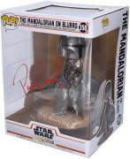 Pedro Pascal Star Wars Autographed The Mandalorian on Blurgg Funko Pop!