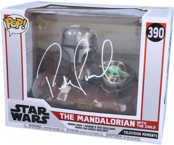 Pedro Pascal Star Wars The Mandalorian Autographed #390 Funko Pop!